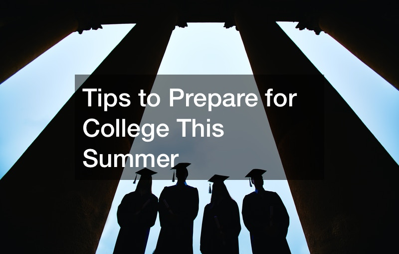 things to get ready for college