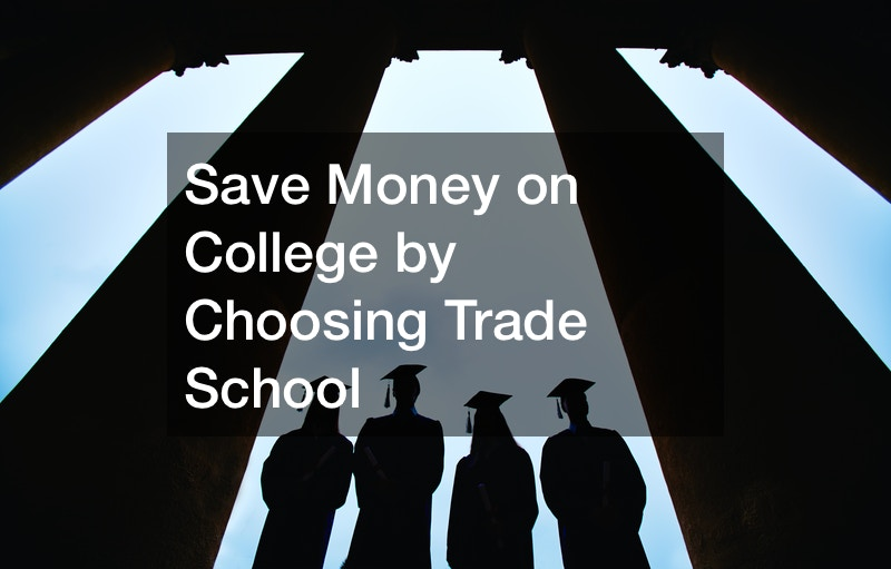 why trade schools are better than college